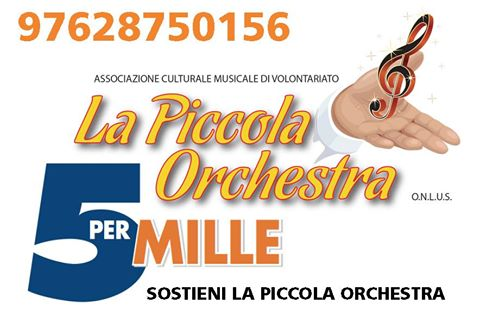 5×1000 PER LA PICCOLA ORCHESTRA
