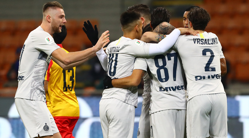 Coppa Italia: Inter-Benevento (a porte chiuse) finisce 6-2!