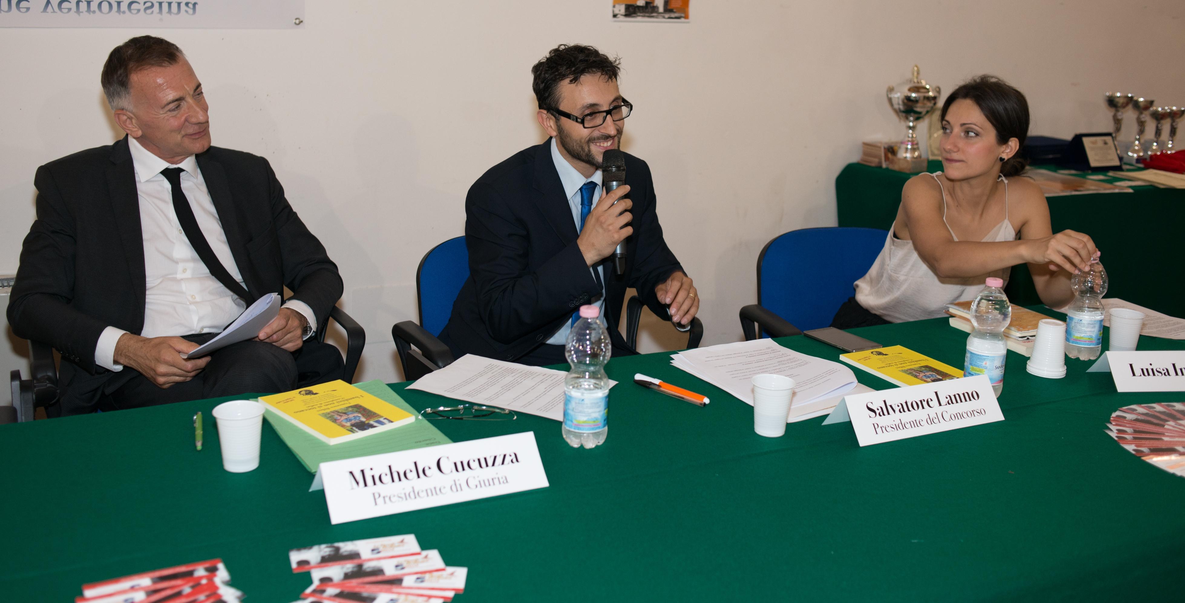 Michele Cucuzza - Salvatore Lanno - Luisa Impastato 1^ Edizione